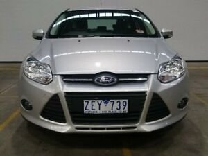 2012 Ford Focus LW Trend PwrShift Silver 6 Speed Sports Automatic Dual Clutch Hatchback