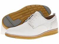 Ecco Men's Clayton Plain Toe Shadow White Oxford / BRAND-NEW with box