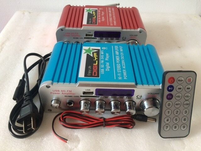Mini Amplifier for Audio System