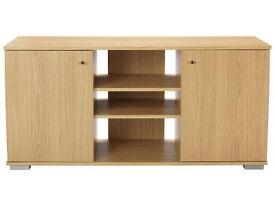 Brand new oak effect sideboard/TV unit