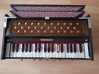 HARMONIUM 3 1/4 Octave Double Fold Bellow Dark Wood With Coupling