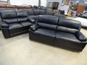 NEW MODERN LEATHER LOUNGE SUITES & NEW PILLOW TOP MATTRESSES