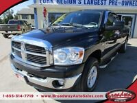 2008 Dodge Ram READY TO WORK SLT MODEL 5 PASSENGER 4X4.. QUAD-CA
