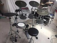 Yamaha DTXtreme IIs electronic drum kit with XP80 snare + upgrades!!