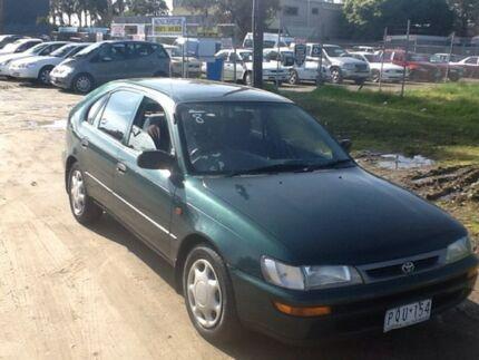 1999 Toyota Seca Green Sedan