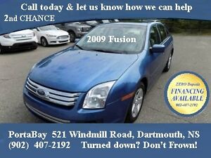 2009 FORD FUSION   ★ZERO DOWN 2nd Chance FINANCNING ★