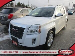 2011 GMC Terrain LOADED SLT EDITION 5 PASSENGER 2.4L - ECO-TEC E