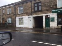 Traditional 1 Bedroom Main Door Flat Main Street Holytown - Available Now