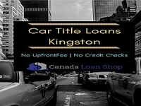 Immediate And Reliable Car Title Loans Kingston