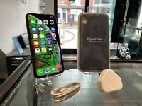 Space Grey Apple Iphone XS MAX 64GB Factory Unlocked To All Networks + Case + Warranty