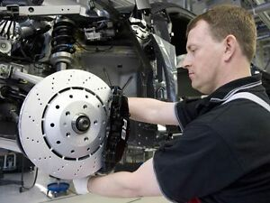 Brake work and Rotor Work done at Mission Auto