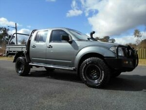 2011 Nissan Navara D40 S6 MY12 RX Titanium Grey 6 Speed Manual Cab Chassis Young Young Area Preview