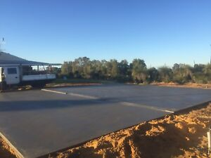 Concrete shed floors Perth Perth City Area Preview
