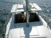 Macgregor 22' Sailboat -- Pop-top with swing keel