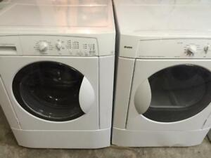 15- Frigidaire Laveuse Sécheuse Frontales Frontload Washer Dryer