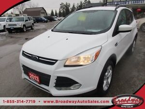 2013 Ford Escape FUEL EFFICIENT SE EDITION 5 PASSENGER 1.6L - EC