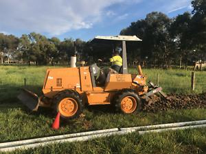 Trenching and ploughing Australia wide services. Bendigo Bendigo City Preview