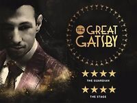 Great Gatsby - Secret London - June 9th - (2) two tickets SOLD OUT