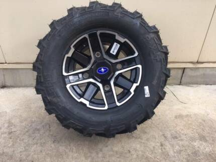 NEW - Tyres & ALLOY Rims - Set of 4 - Suit POLARIS RANGER Aldinga Morphett Vale Area Preview
