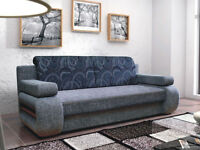 TIGRA SOFA BED, LIVING ROOM FURNITURE, 3 SEATER SOFA BED. DELIVERY AVAILABLE!!