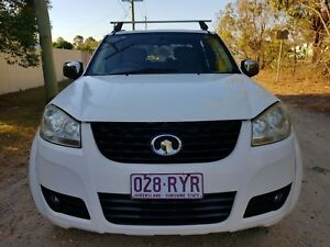 2011 Great Wall V200 Ute/DIESEL/LOWKM/REGO/RWC/WARRANTY AVAILABLE