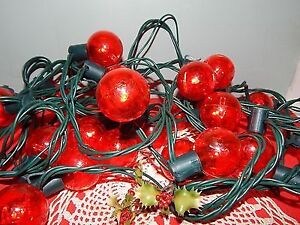 Philips String LED Christmas Lights Red Globe - 24 ft BRAND NEW