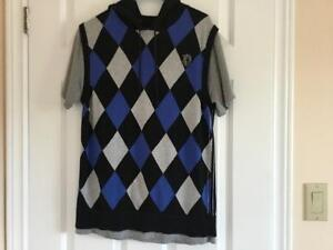 Excellent Le CHATEAU Hooded Short Sleeve Sweater size M London Ontario image 2