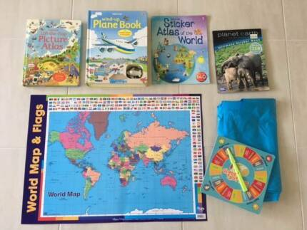 Geography Teaching Books/Games