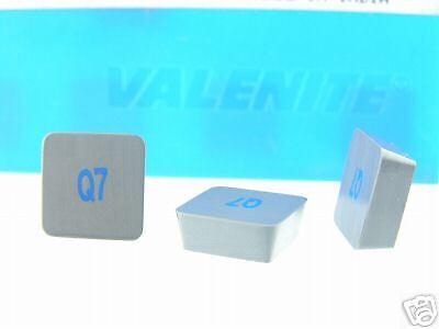 200 NEW VALENITE SPG 434T Q7 CERAMIC INSERTS N589S