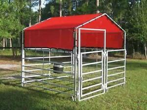 NEW PRODUCT!! Temporary outdoor horse pens!