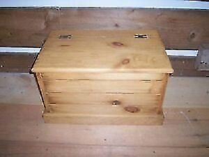 Small Pine Chest