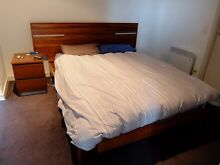Bed frame and mattress from Snooze, High quality South Yarra Stonnington Area Preview