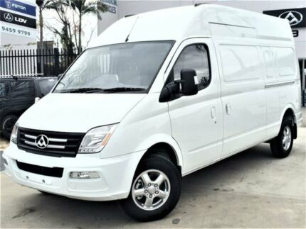 2016 LDV V80 K1 LWB High White 6 Speed Automated Manual Van