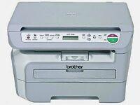 Brother DCP 7030 Printer + x2 Toner cartridge drum unit