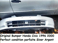 Original Bumper Honda Civic 1996 2000 Siver Argent