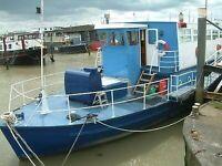 Converted Passenger Ferry - Zodiac