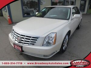 2010 Cadillac DTS LOADED PLATINUM EDITION 5 PASSENGER 4.6L - V8