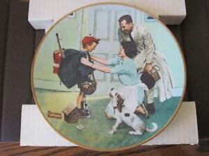 Norman Rockwell Collector Plates London Ontario image 5