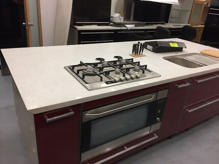 Italian ex display kitchens with quality white goods