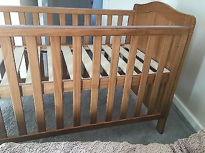f3b44ce97a7c REDUCED  NOW £35 Mothercare Addington Cot Bed