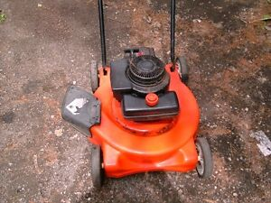 lawnmower and parts