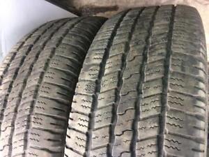 2X 275 60 20 Winter tires Pneus D`hiver