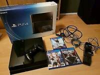 500gb PS4 plus games & controller charging dock