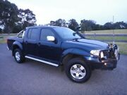 2007 Nissan Navara D40 ST-X (4x4) Blue 6 Speed Manual Dual Cab Pickup Mordialloc Kingston Area Preview
