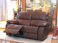 **Limited Offer** Brand New Solid Leather sofa 3 & 2 Sofa CHOICE OF COLOURS, FREE DELIVERY