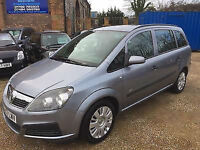 2007 Vauxhal Zafira 1.6i 16v ( a/c ) Life petrol