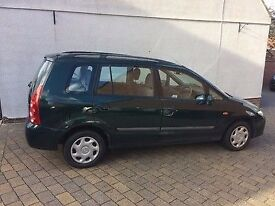 2003 MAZDA PREMACY GXi Petrol Manual 5 Speed 5 Door M.P.V.With Long MOT PX Welcome