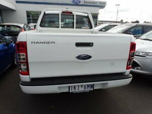 2015 Ford Ranger PX MkII XL Double Cab White 6 Speed Manual Utility Strathmore Heights Moonee Valley Preview