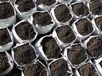Bulk bag ballast topsoil