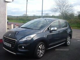 Peugeot 3008 ACTIVE BLUE HDI S/S AUTO Dec 2015